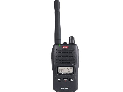 GME TX675 2 watt UHF Handheld Radio (Single unit)